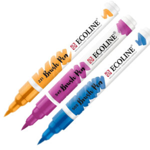 Talens Ecoline Brush Markers