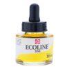 Talens Ecoline Liquid Watercolors - Lemon Yellow 205 30 ml (1 OZ)