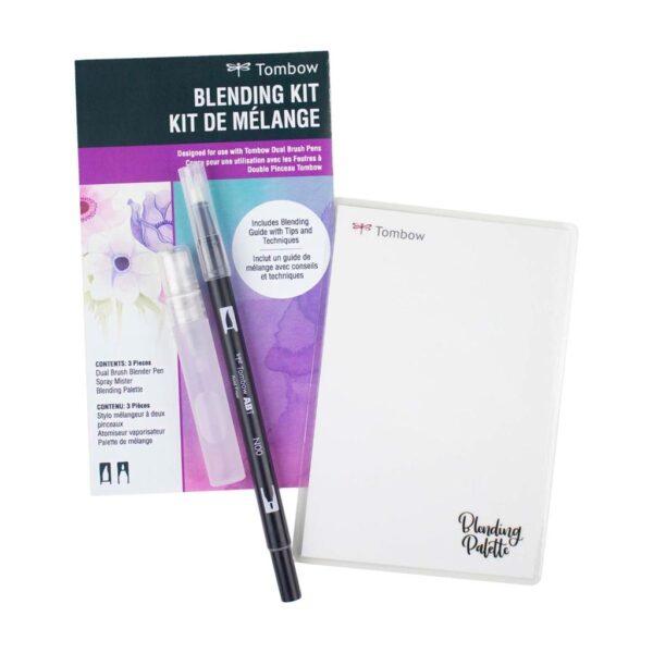 Tombow Dual Brush Pen Blending Kit Open