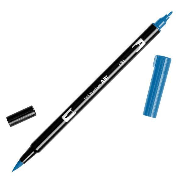 Tombow Dual Brush Pens - 535 - Cobalt Blue