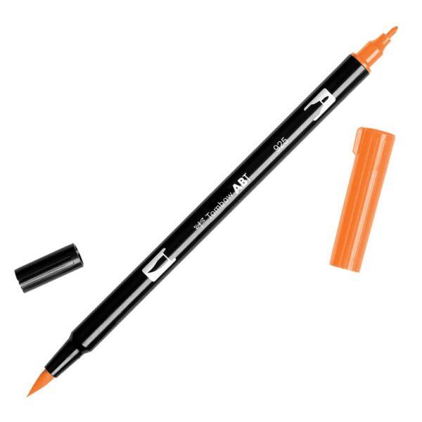 Tombow Dual Brush Pens - 925 - Scarlet