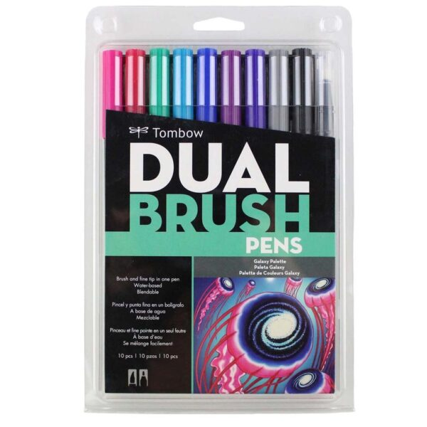 Tombow Dual Brush Pen Set Galaxy
