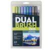 Tombow Dual Brush Pen Set Landscape