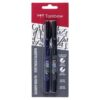 Tombow Fudenosuke Marker Soft Hard 2 Pack