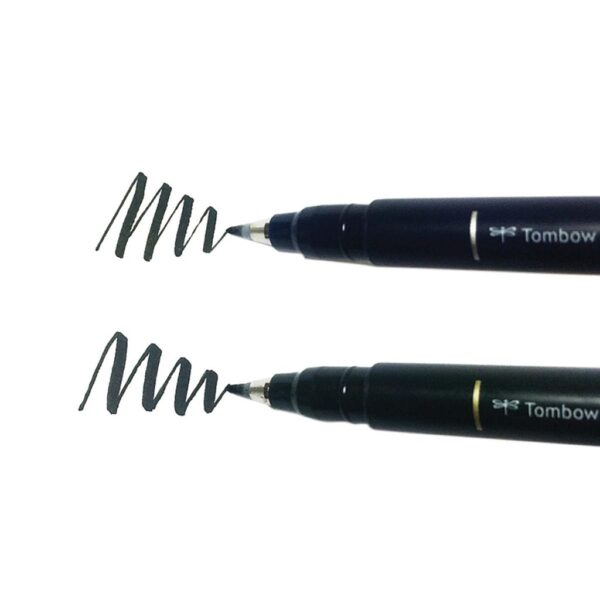 Tombow Fudenosuke Marker Soft Hard Nibs 2 Pack