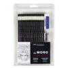 Tombow Mono Graphite Pencil Set of 12