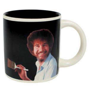 Unemployed Philosopher Coffee Mug Bob Ross