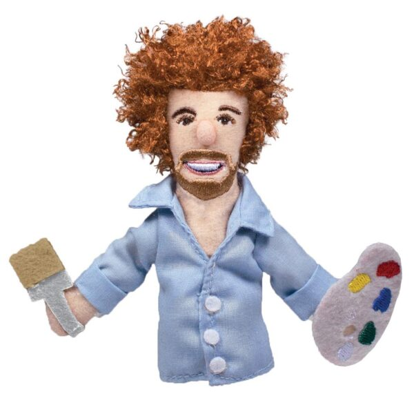 Bob Ross Magnetic Personality Puppet