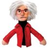 Unemployed Philosopher Magnetic Puppet Andy Warhol