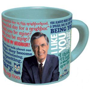 Unemployed Philosopher Coffee Mug Mr Rogers