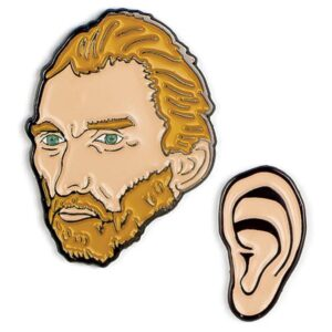 Vincent van Gogh and Ear Pins