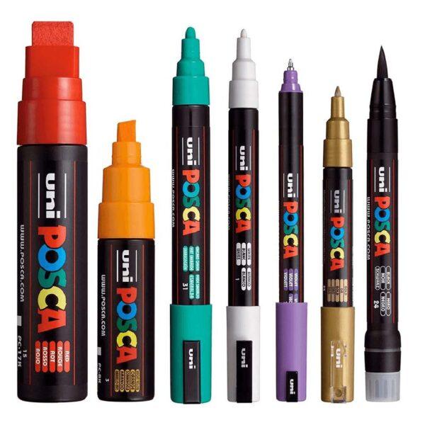Uni-Posca Paint Markers