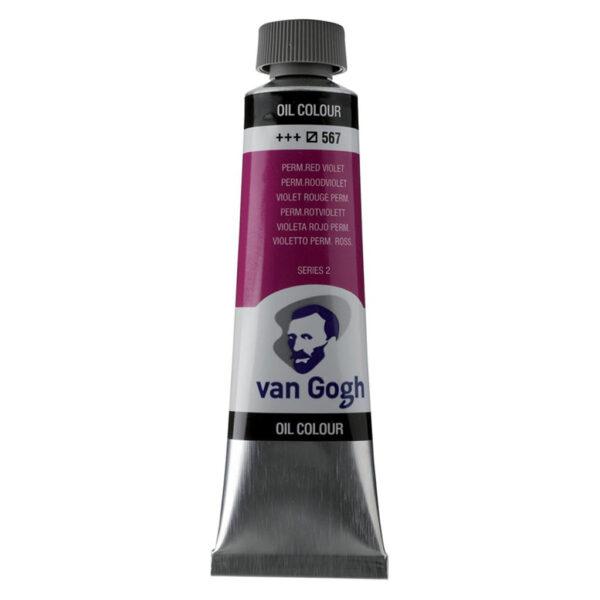 Van Gogh Oil Colors - Permanent Red Violet 567 40 ml (1.35 OZ)