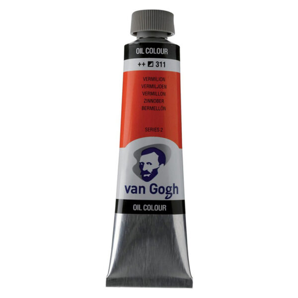 Van Gogh Oil Colors - Vernilion 311 40 ml (1.35 OZ)