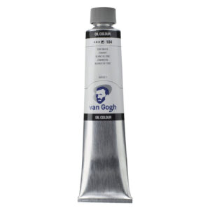 Van Gogh Oil Colors - Zinc White 104 200 ml (6.7 OZ)