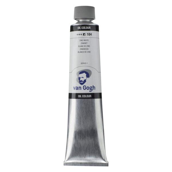 Van Gogh Oil Colors - Zinc White 104 200 ml (6.7 OZ)