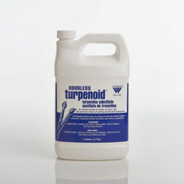 Weber Odorless Turpenoid - Plastic Bottle 3.7L (128 OZ)