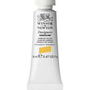 Winsor and Newton Designers Gouache - Cadmium Yellow Deep 111 14 ml (0.47 OZ)