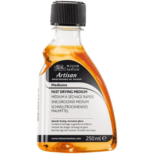 Winsor and Newton Artisan Water Mixable Fast Drying Mediums - 250 ml (8.4 OZ)