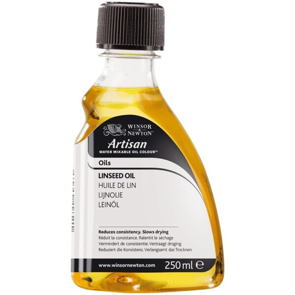 and Newton Artisan Water Mixable Linseed Oil  - 250 ml (8.4 OZ)