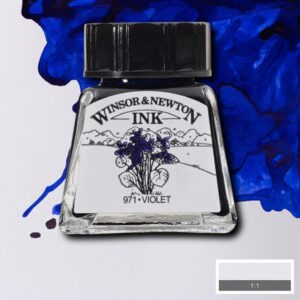 Winsor and Newton Drawing Inks - Violet 14 ml (0.47 OZ)