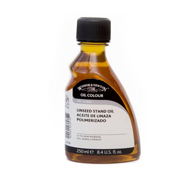 Winsor and Newton Linseed Stand Oil  - 250 ml (8.4 OZ)