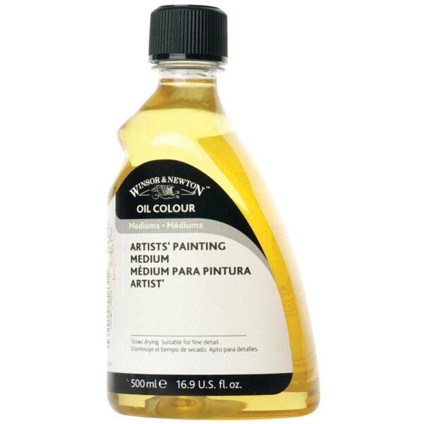 Winsor and Newton Artist Painting Mediums - 500 ml (16.9 OZ)