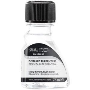 Winsor and Newton English Distilled Turpentine - 75 ml (2.5 OZ)