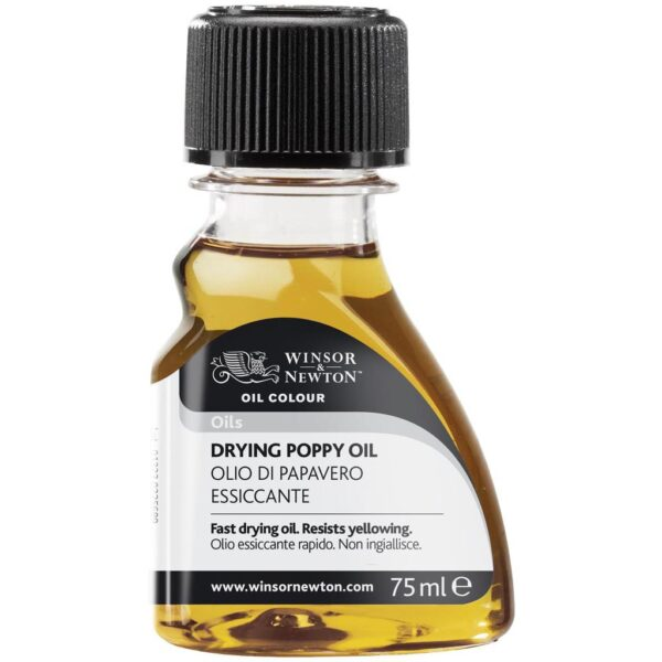 Winsor and Newton Drying Poppy Oil 75 ml (2.5 OZ)