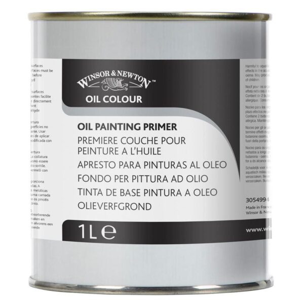 Winsor and Newton Oil Painting Primer 1 Litre (33.8 OZ)
