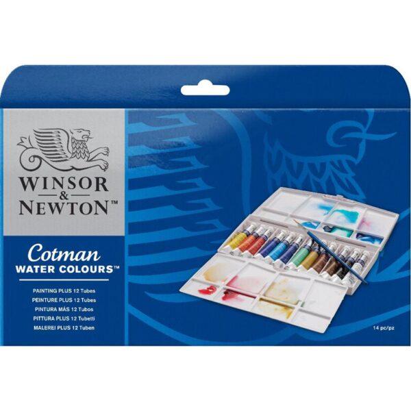 Winsor Newton Painting Plus 12 Tube. Set