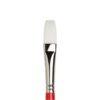 Winsor and Newton University Brushes - Long Handle Flat Size 8