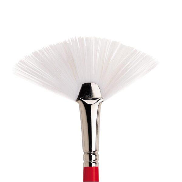 Winsor and Newton University Brushes - Long Handle Fan Size 6