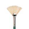 Winsor and Newton Winton Hog Bristle Brushes - Long Handle Fan size 5