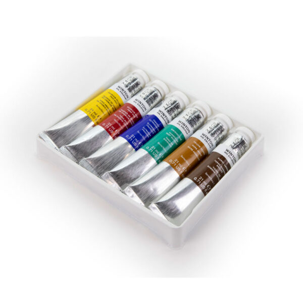 Winsor and Newton Winton Oil Color Sets - 6 x 21ml Tubes