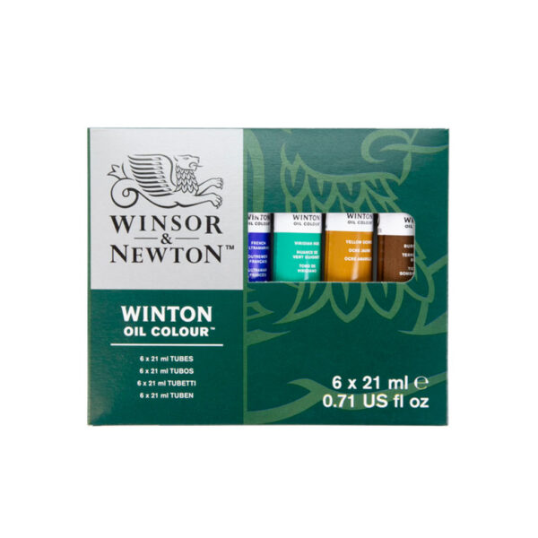Winsor and Newton Winton Oil Color Sets