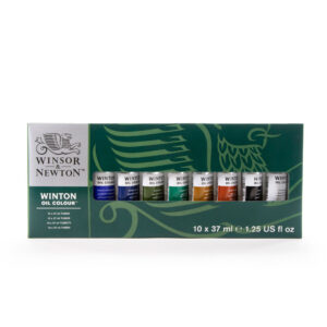 Winsor Newton Winton Starter Set 10 x 37ml Front
