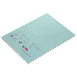 Legion Yupo Watercolor Paper Pads - Translucent 11 x 14 in Smooth Surface 153gsm (104lb)
