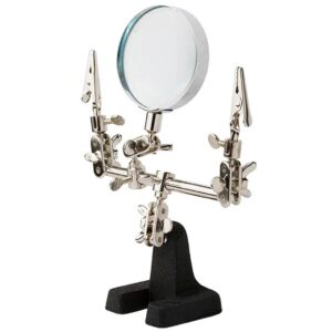 Excel Double Clip Extra Hands With Magnifier