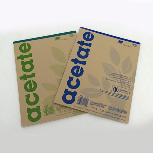 Clear Acetate Pads