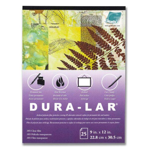 Grafix Dura-lar 005 Clear Film Pad