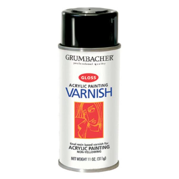 Grumbacher Acrylic Painting Varnish Spray 311 g (11 OZ)