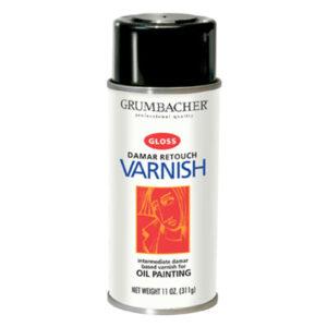 Grumbacher Damar Spray Varnish Retouch 311 g (11 OZ)