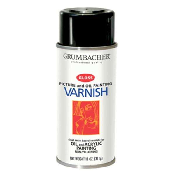 Grumbacher Picture Varnish Spray Gloss 311 g (11 OZ)