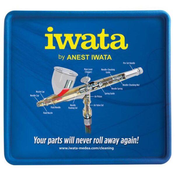 Iwata Raised Ridge Airbrush Cleaning Mat
