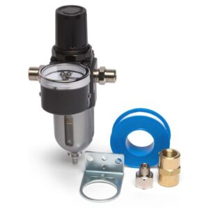 Iwata Moisture Filter with Pressure Regulator and Gauge