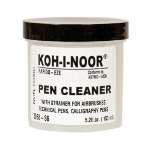 Koh-I-Noor Rapidograph Pen Cleaner 150ml