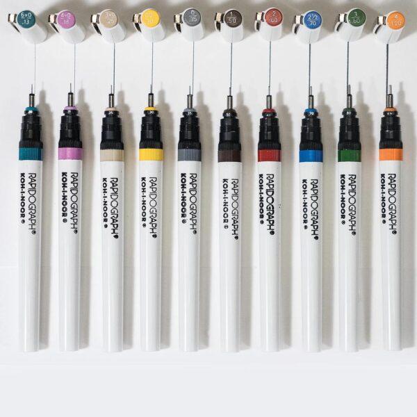 Koh-I-Noor Rapidograph Pens