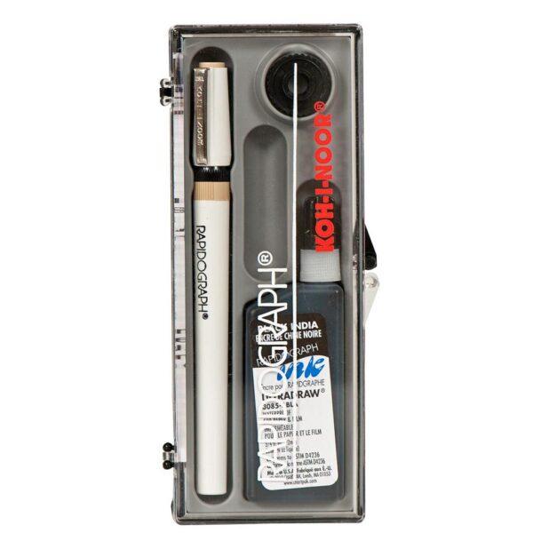 Koh-I-Noor Rapidograph Pen Box Size 3x0