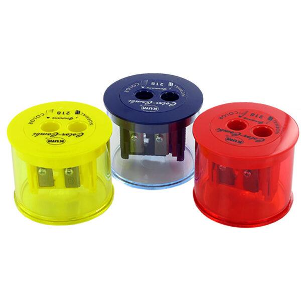 KUM Color-Combi 2 Hole Pencil Sharpener